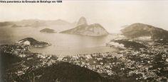 A cidade de São Sebastião do Rio de Janeiro, capital do Império do Brasil, em 1889: