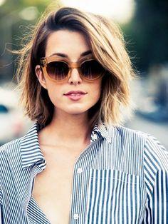 short haircuts for thick hair