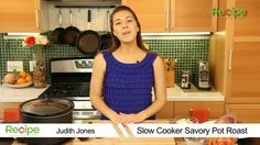Watch How to Make a Slow Cooker Savory Pot Roast in the Recipe Video