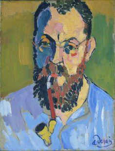 Henri Matisse, 1905, André Derain. Oil on canvas. Tate, London.