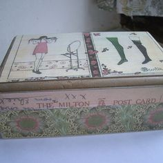 Vintage Fashion Illustration Jewellery  Box