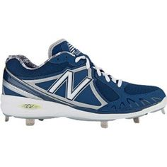 SALE - Mens New Balance MB3000 Baseball Cleats Blue Mesh - Was $89.99 - SAVE $5.00. BUY Now - ONLY $84.99