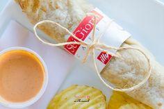 ¡Burrito de frijoles y queso! #SeiGiornideli