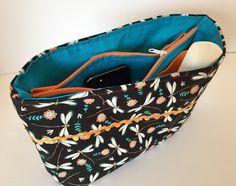 Organizer Taschen Organisator Geschenk Taschenordner Fächertasche von madameLotta auf Etsy