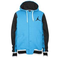 Jordan The Varsity Hoodie 2.0 - Vivid Blue/Black/White