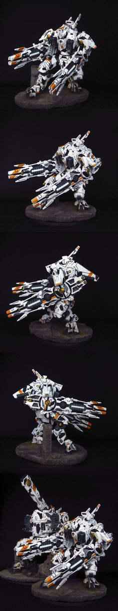 TAU EMPIRE XV107 R'VARNA BATTLESUIT - Nakovaln9                                                                                                                                                                                 Plus