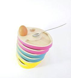 Coquetier GHOST EGG en hêtre massif, made in France #coquetier #eggcup #egg #hêtre #bois #filomen #wood #beech