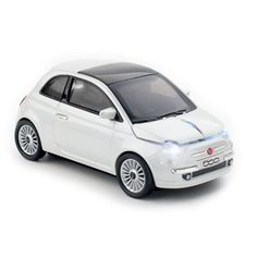 tyreup.com - click car mouse - Fiat 500 mouse wireless 2.4 Ghz / Pearl White - Click car