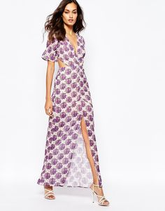 Image 1 of For Love and Lemons Clover Maxi Dress