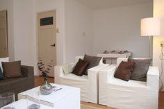 Mooi appartement in Rotterdam ingericht met de meubels van CUBIQZ. Zo mooi en sfeervol kunnen meubels van karton zijn.