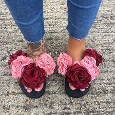 MISTER'N'MISS MAHOGAN ROSE SLIPS