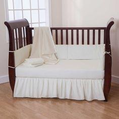 Solid Ecru 5 Piece Crib Bedding Set plus FREE Sheet Saver by American Baby Company American Baby Company http://www.amazon.com/dp/B00GP956XG/ref=cm_sw_r_pi_dp_tminub1ZDFK09