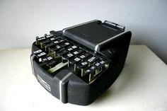 Vintage Industrial Code Talker Machine - Stenograph