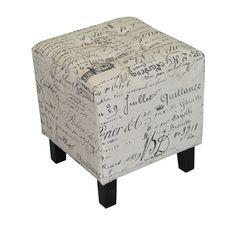 A Loja do Gato Preto | Puf Cubo Letras #alojadogatopreto Outdoor Furniture, Outdoor Decor, Home Organization, Decoration, Table, Ottoman, Chair, Storage, Home Decor