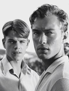 Jude Law and Matt Damon in 'The Talented Mr. Ripley',