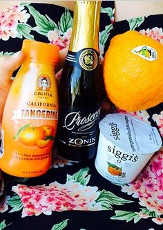 Califia Tangerine Mimosas... brunching like a boss.