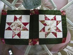 Quilts 2011 - Mom's pillowcases