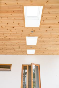 Roof windows by Velux. Roof Window, Track Lighting, Windows, Ceiling Lights, Mirror, Finland, Modern, House, Furniture