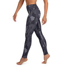 Breath of the wind - yoga leggings - Balance and Symmetry Breath Of The Wind, Yoga Session, Spandex Material, Yoga Leggings, Breathe, Jumpsuit, Dresses, Fashion, Overalls