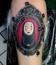 I love spirited away, I dreamed about the whole composition of it, my good friend Peter Cortez @ Javier Kustoms Tattoo on Tijuana, Mexico made it for me, I could not be more in love with it 3