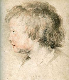"""Albert Rubens"" Peter Paul Rubens  (1619) Style: Baroque"