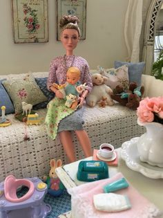 Doll Clothes Barbie, Barbie Dress, Happy Family Barbie, Barbie Bebe, Barbie Stories, Barbies Pics, Barbie Diorama, Beautiful Barbie Dolls, Barbie Fashionista