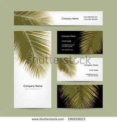 Find Business Cards Design Tropical Palm Leaf stock images in HD and millions of other royalty-free stock photos, illustrations and vectors in the Shutterstock collection. Web Design, Logo Design, Graphic Design, Business Card Design, Business Cards, Tree Borders, Modern Cafe, Leaf Logo, Tropical Leaves