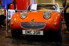 Anyone who says the Frogeye Sprite isn't the happiest car on earth, they're wrong  http://revmatch.me/2016/03/06/nec-restoration-show-gallery-2016/