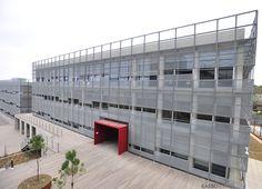 Expanded Metal Mesh Facade // Piri Reis University/ Istanbul -TURKEY // Metal Facade Manufacturer: KASSO Engineering