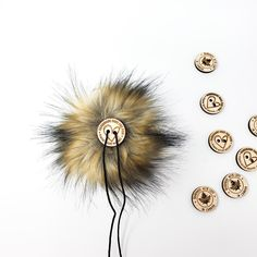 Fawn Faux Fur Pom Poms – Warehouse 2020 Faux Fur Pom Pom, Black Nylons, Pom Poms, Warehouse, How To Make, Color, Colour, Magazine, Barn