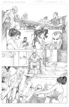 The Disease - 4 - Pencil by me - Property of Octane Comics