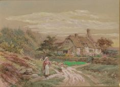 He was born in London in 1848 to the artist Edward Duncan and Berthia née Huggins, the daughter of British marine painter William John Huggins. In he was elected an Associate of the Royal Watercolour Society. British Marine, Surrey, Watercolour Painting, Artist, Furniture, Artists, Home Furnishings, Arredamento