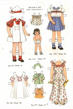 """""""Betsey and her Frocks"""" by Pat Stall - 1983: page 2 (of 2)"""