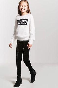 GIRLS UNICORN TUNIC TOP LEGGINGS OUTFIT SET CLOTHING WINTER UK SELLER JUMPER