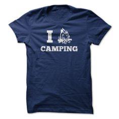 I Love Camping #sport #tshirt