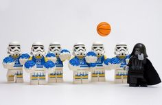 Lego Starwars cheerleaders