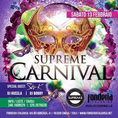 #supreme #supremestaff #supremecarnival #carnivalparty #carnivalhiphop #supremegirls #supremefamily sabato 13.2.16 #dimitrimazzoni #hiphop #hiphoplife #hiphopbeats #hiphopdance #hiphopmusic #hiphopstyle