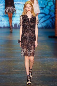 Sfilata Anna Sui New York - Collezioni Primavera Estate 2016 - Vogue