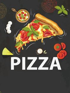 Pizza poster background material The Effective Pictures We Offer You About pizza A quality picture c Pizzeria Design, Design Menu Pizza, Pizza Logo, Pizza Restaurant, Allo Pizza, Pizza Kunst, Pizza Poster, Pizza Art, I Love Pizza