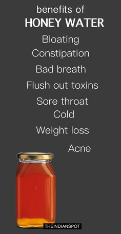 BENEFITS OF HONEY WATER YOU NEVER KNEW