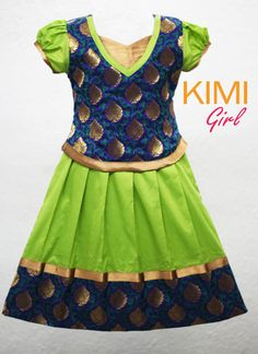 blouse designs for pattu pavadai for girls - Page Not Found - Yahoo India Image Search results Frocks For Girls, Kids Frocks, Little Girl Dresses, Girls Dresses, Baby Dresses, Salwar Designs, Kids Lehenga, Indian Lehenga, Kids Blouse Designs