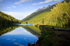 Lower Dewey Lake Skagway alaska - Human and Natural