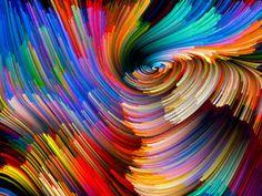 Color Vortex Backdrop
