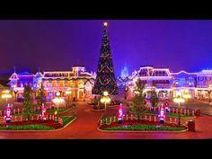 (65) Main Street Christmas Full Area Music | Magic Kingdom Walt Disney World - YouTube