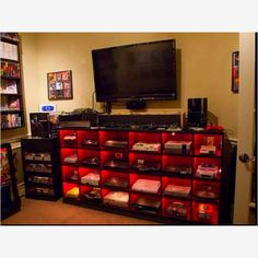 Basement/Den sports room! Man cave!