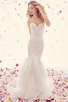 Ti Adora Strapless Mermaid Gown | Wedding Dress | Wedding Gown |  #WeddingDresses #weddingseason #ad #weddings #weddingideas #WeddingDress #BeachWedding #RusticWedding #fairytalewedding