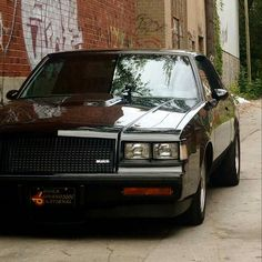 Grand National Buick Grand National Gnx Chevy Chevrolet Automobile Buick Cars