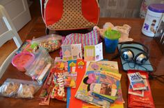Anatomy of a Preschooler's Carryon Bag #ttot