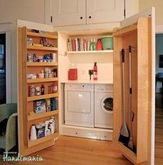 Bekijk de foto van DanielleF met als titel wasmachine kast voor al je spullen en andere inspirerende plaatjes op Welke.nl.