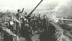 This was the German Flak built under license by Resita, and was primarily used to protect the vital Romanian oil fields at Ploiesti from Allied air raids Eastern Front Ww2, Air Raid, Military Pictures, Armed Forces, World War Ii, Troops, Romania, Wwii, Army